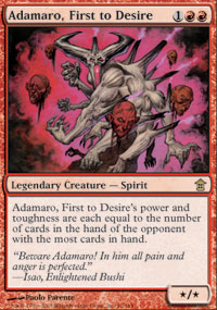 Adamaro, First to Desire - Saviors of Kamigawa