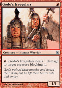 Godo's Irregulars - Saviors of Kamigawa