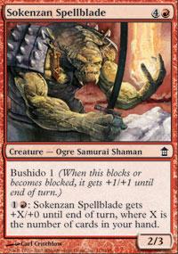 Sokenzan Spellblade - Saviors of Kamigawa
