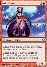 Yuki-Onna - Saviors of Kamigawa