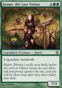 Ayumi, the Last Visitor - Saviors of Kamigawa