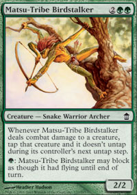 Matsu-Tribe Birdstalker - Saviors of Kamigawa