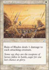 Rain of Blades - Scourge
