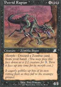 Putrid Raptor - Scourge