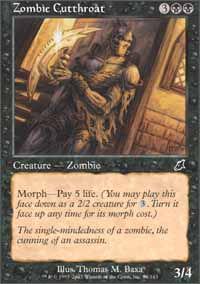 Zombie Cutthroat - Scourge