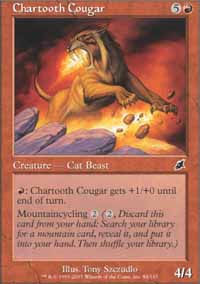Chartooth Cougar - Scourge