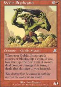 Goblin Psychopath - Scourge