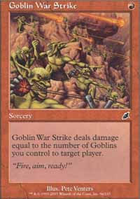 Goblin War Strike - Scourge