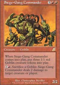 Siege-Gang Commander - Scourge