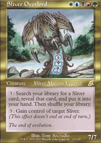 Sliver Overlord - Scourge