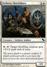 Kithkin Shielddare - Shadowmoor