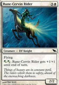 Rune-Cervin Rider - Shadowmoor