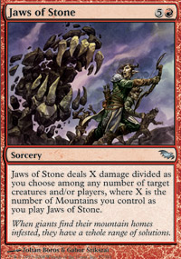 Jaws of Stone - Shadowmoor