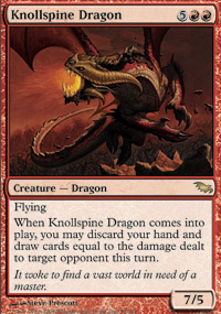 Knollspine Dragon - Shadowmoor