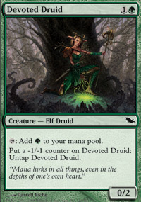 Devoted Druid - Shadowmoor
