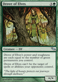 Drove of Elves - Shadowmoor