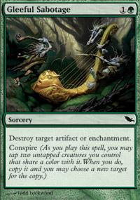 Gleeful Sabotage - Shadowmoor