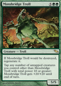 Mossbridge Troll - Shadowmoor