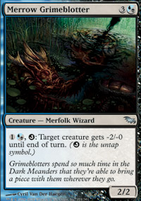 Merrow Grimeblotter - Shadowmoor
