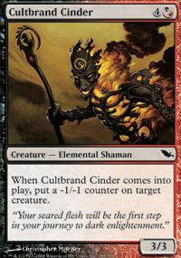 Cultbrand Cinder - Shadowmoor