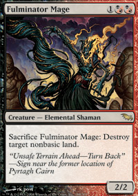Fulminator Mage - Shadowmoor