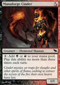Manaforge Cinder - Shadowmoor