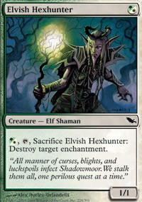 Elvish Hexhunter - Shadowmoor