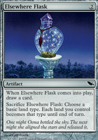 Elsewhere Flask - Shadowmoor