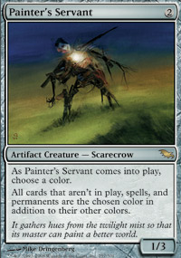 Painter's Servant - Shadowmoor