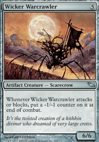 Wicker Warcrawler - Shadowmoor