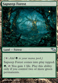 Sapseep Forest - Shadowmoor