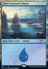 Snow-Covered Island - Secret Lair