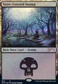 Snow-Covered Swamp - Secret Lair