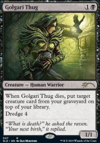 Golgari Thug - Secret Lair