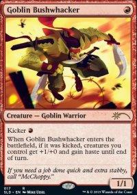 Goblin Bushwhacker - Secret Lair