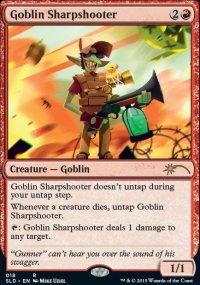 Goblin Sharpshooter - Secret Lair