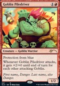 Goblin Piledriver - Secret Lair