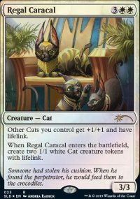 Regal Caracal - Secret Lair