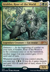Arahbo, Roar of the World - Secret Lair
