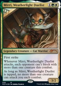 Mirri, Weatherlight Duelist - Secret Lair