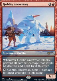 Goblin Snowman -