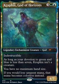 Kruphix, God of Horizons - Secret Lair