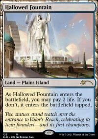 Hallowed Fountain - Secret Lair