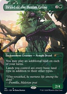 Dryad of the Ilysian Grove - Secret Lair
