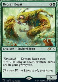 Krosan Beast - Secret Lair