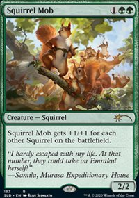 Squirrel Mob - Secret Lair