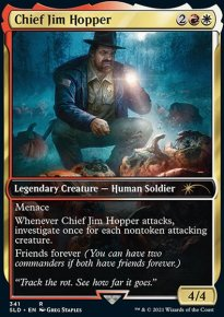 Chief Jim Hopper - Secret Lair