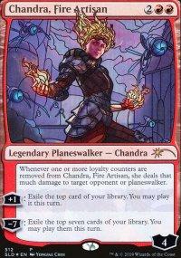 Chandra, Fire Artisan - Secret Lair