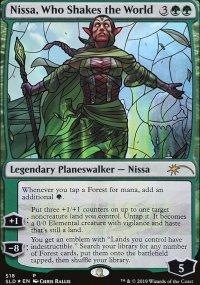 Nissa, Who Shakes the World -