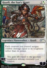 Huatli, the Sun's Heart -